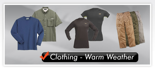 Tactical Express - Clothing - Warm Weather
